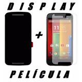 Tela Touch Display Lcd Motorola Moto G2 2ª Geração + Brinde