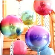 Balão Metalizado Nacarado Decoração Festa Buffet Unidade