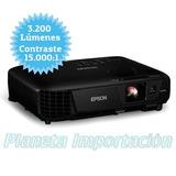 Proyector Epson Powerlite S31+ 3200lum 10000hs Factura A/b