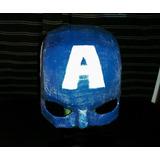 Casco Del Capitán América.