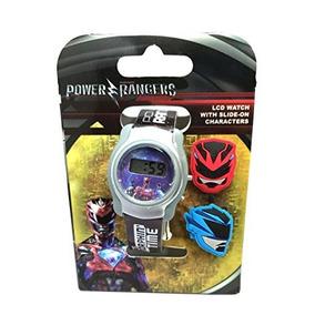 Reloj Power Rangers Samurai Cool Lcd...