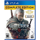 The Witcher 3 Wild Hunt. Complete Edition. Para Ps4 Nuevo.