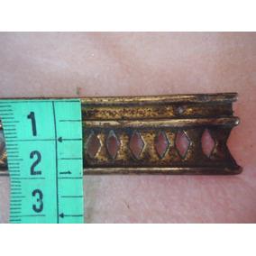 Peças Antigas Acabamento Em Moveis-barrado Em Bronze 97 Cm
