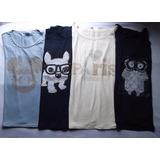 Camiseta Feminina Strass Diversos Modelos E Cores Kit Com 03