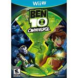 Ben 10 Omniverse Nintendo Wii U Nuevo Sellado Original