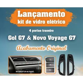 Kit Vidro Eletrico Traseiro G6 G7 Gol Voyage Modelo Original