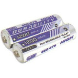 2 Pilas Recargables Aaa Alto Rendimiento Baterias