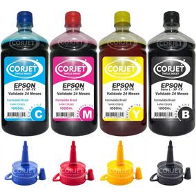 4 Litros Refil De Tinta P/ Impressora Epson L355 L365 L375