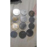 Coleccion De Monedas Italianas L50. L100.l500.l1000 Ano.1957
