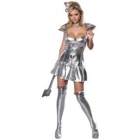 Mago De Oz - Hombre De Hojalata Mujer De Tamaño Costume Lar