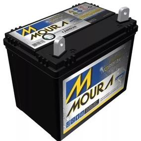 Bateria Moura 12mn30 30ah Para Tratores Jardinagem