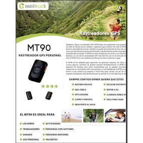 Mt90v4 Rastreador Gps Para Personas, Carga, Mascotas, Etc