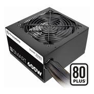 Fuente Smart 600w Thermaltake Certificacion 80 Plus White