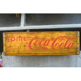 Antiguo Cajón Original De Coca Cola Óptimo