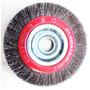 Escova De Aço Circular Osborn De 8 X 1.1/4 Com 2 Buchas