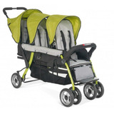 Coche Baby Infant Para Trillizos Verde