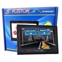 Gps Automotivo Foston Fs3d463 C/ Tv Digital