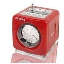 Mini Corneta Y Radio Digital Fm Mp3 Recargable Usb Pendrive