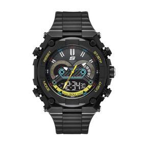 Skechers Sr1114 Reloj Para Hombre, Black