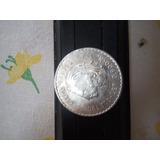 Moneda De Plata Cuahutemoc 5 Pesos ( Replica)
