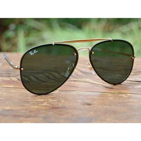 1a35d3fe79 Óculos Ray Ban Blaze Aviador Rb3584 G15 Tradicional Original