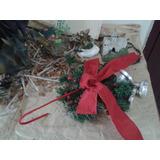 Navidad. Muérdagos Para Sillas, Puertas, Ventanas Multiuso
