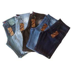 Kit Com 5 Bermudas Jeans Masculinas Boas, Baratas E Bonitas!