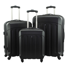 Set X3 Maletas Benetton Belab0000179-1 Scanner Too Negra