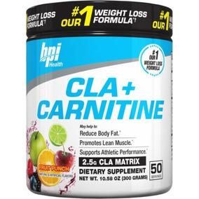 Bpi - Cla + Carnitina 50serv / Carnitina Quemador De Grasa
