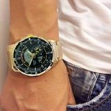 Relógio Masculino Atlantis Original Aço Homem Digital Analog