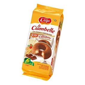 Ciambelle (rosquillas) De Chocolate Rellenas Con Crema
