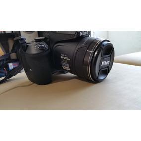 Câmera Fotográfica Nikon Coolpix P900 Zoom 83x