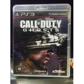 Jogo Call Of Duty Ghosts Playstation 3, Em Portugues. Novo