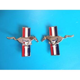 Emblemas Mustang Ford Caballos Metalicos 7 Cm. De Largo