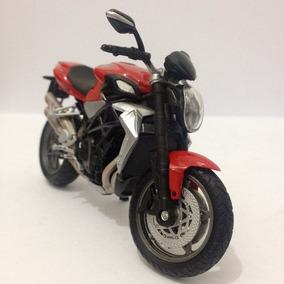 Black Friday Moto Mv Augusta Brutale 990 R Vermelha Em Metal