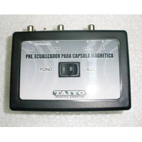 Giradiscos/tocadiscos - Preamplificador Marca Taiyo