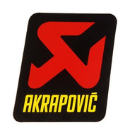 Sticker Akrapovic P-hst14al Original Alta Temperatura