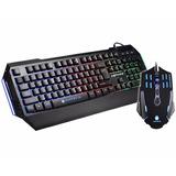 Combo Leptani Gamer Teclado + Mouse Antryx Led 3200 Dpi