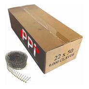 Clavo Espiralado Electrosoldado Clavadora 22x50 Cabeza X9000
