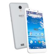 Celular Sky B Plata 4g Camara 5mp 16gb 1gb Ram Android 3ct