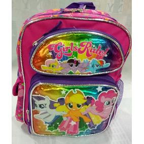 Mochila My Little Pony Preescolar 27x32x15 Cm