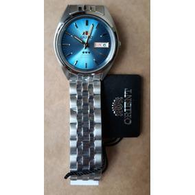 bb22a930191 Relogio Oriente Automatico Prova Dagua De Luxo - Relógios De Pulso ...