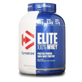 Elite 100% Whey Protein 2300g Dymatize Val. 08/2018