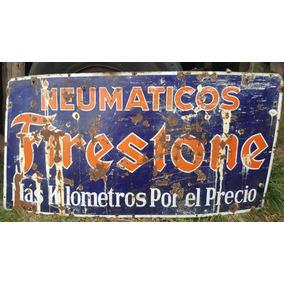 Chapa Antigua Esmaltada