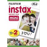 Cartucho 20 Fotos Cámaras Fujifilm Instax Mini. Tienda