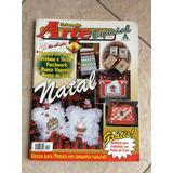 Revista Criando Arte Especial Natal Pintura Em Gesso Tecido