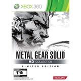 Metal Gear Solid, Colección Hd, Edición Limitada