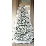 Exclusivo Árbol De Navidad Modelo Nevado Coposo -rama X Rama