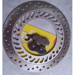 Disco De Freio Cbx 250 Twister Cb 300 Dianteiro + Pastilha