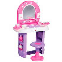 Casinha Brinquedo Educativo Penteadeira Infantil Miss Glamou